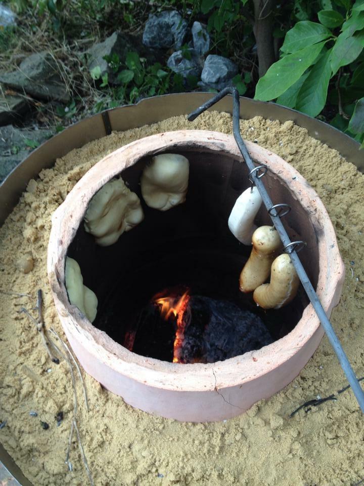 Wurst im Tandoori