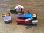 Minecraft Paperwork mit dem Silhouette Plotter