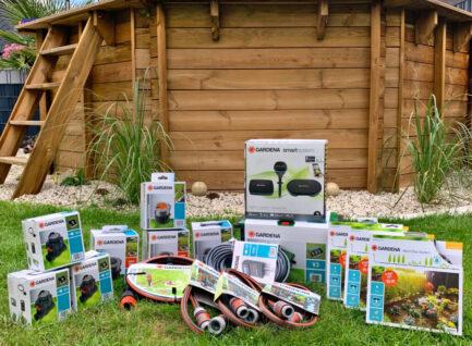smarte Gartenbewässerung mit dem Gardena Irrigation Control System